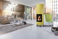 Moderne Kachelöfen, Heizkamine und Kaminöfen: Feuriges Wohn-Design