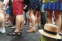 Fashion-Fauxpas: Sandalen ohne Socken!