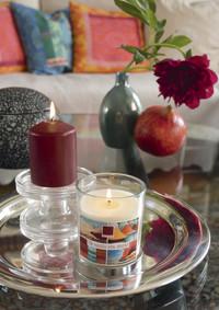 Orientalische Lichtspiele: Kerzen verwandeln jeden Wohnraum in Wohlfühloase