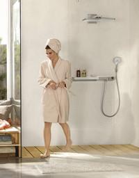 Die Dusche als Mittelpunkt: So werden auch kleine Bäder ganz groß in Sachen Wellness