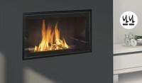 Holzfeuer oder Gaskamin? Ganz einfach – beides!