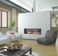 Moderne, umweltfreundliche Feuerstätte: Kaminfeuer-Komfort auf Knopfdruck