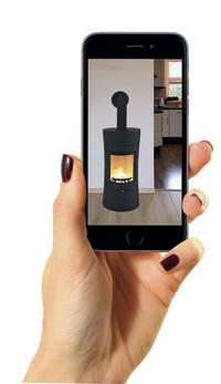 Kostenlose Kaminofen-App: Zum eigenen Innenarchitekten werden