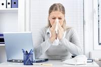 Erkältung im Berufsleben: Husten und Schnupfen auf dem Vormarsch