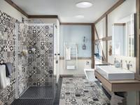 Walk-In Dusche: Was tun, wenn´s zieht?