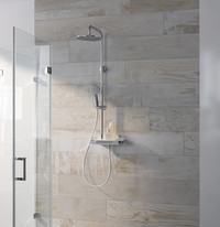 Schöne Ordnung in der Dusche: Durchdachte Armatur für maximalen Komfort