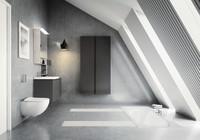 Für moderne Bad-Eleganz: Hauptsache Weiß-Schwarz