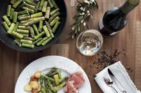 Mit dem passenden Wein: Der pure Spargelgenuss