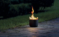 Jetzt wird es olympisch: Einzigartige Feuerfackel aus massivem Guss