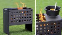 Alles drin: Feuer in der Box zum Grillen, Garen und Genießen