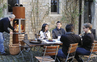 Gartenkamin aus Corten: Von blankem Stahl zu Rost mit Charisma