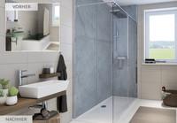 Schnelle Teilsanierung mit Wandmodulen: Ganz einfach von Badewanne zu Dusche